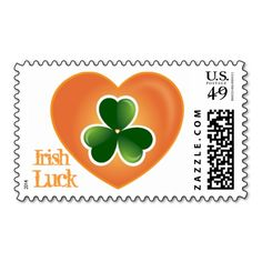 Luck Of The Irish, Irish Luck, Clover Green, Stamp Making, Self Inking Stamps, Stamp Collecting, Postage Stamps, Stationery, Invitations