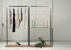 FRAME DISPLAY functional wardrobe for store, show room and why not... for house?