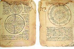 The Timbuktu Manuscripts showing both mathematics and astronomy.The Timbuktu Manuscripts - or Mali Manuscripts - some of which date back to the 13th century, are Arabic and African texts that hark back to the city's glorious past, when African Muslim merchants would trade gold from West Africa to Europe and the Middle East in return for salt and other goods.Ancient African scholarship.  The manuscripts cover diverse subjects: mathematics, chemistry, physics, optics, astronomy, medicine…