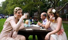 1920s style at The Jazz Age Lawn Party on Governors Island
