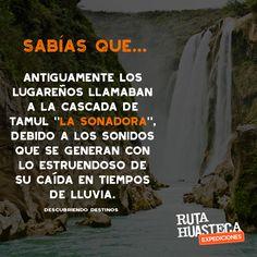 La Cascada de Tamul es una de las caídas de agua más grande y espectacular de #México. La podrás admirar en tu próxima visita a la #HuastecaPotosina.  #WeLoveAdventure www.rutahuasteca.com 01.800.543.7746 WhatsApp: 481.116.5900 email: info@rutahuasteca.com #RutaHuasteca #SLP #Ecoturismo #TurismoDeNaturaleza #VisitMéxico #Tours #TodoIncluido