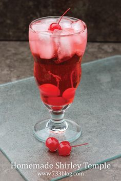 My thirteen year old loves Shirley Temples. Everyone in our family knows exactly what she will order if we go out to a restaurant. She did really good on several tests at school recently, so to celebrate her 100+'s (possible with extra credit questions) I bought Shirley Temple makings. These non-alcoholic mixed drinks are super …