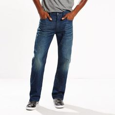 Levi's 569 Loose Straight Stretch Jeans - Men's 36x32