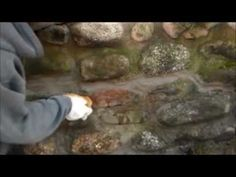 How I re-point a old stone wall. (Mike Haduck) - YouTube