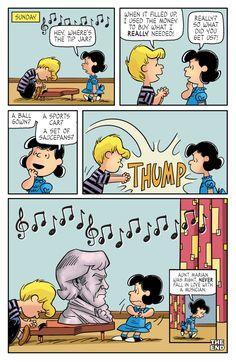 Kaboom Peanuts Series 2, #7 - Tip Jar