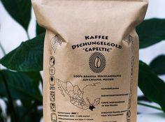 "Kaffee Dschungelgold ""Capeltic"" #Fair_hands_at Arabica, Gold, Hands, Coffee, Drinks, Jungles, Kaffee, Drinking, Beverages"