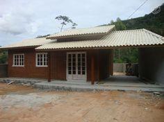 Casas Pré moldadas de madeira