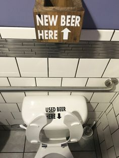 Clever Pub Toilet Design - More at: Pooping by Laughing