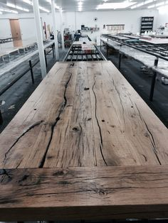 Another table waiting for liquid gloss.....launch during Maison et Objet