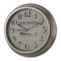 "Found it at Wayfair - 26.25"" Yates Wall Clock"