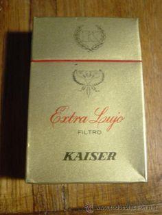 PAQUETE DE CIGARRILLOS TABACO KAISER (TABACANA, ISLAS CANARIAS) (Otros Coleccionismos - Paquetes de tabaco)