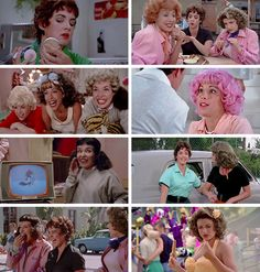 Grease Movie, Life Tv, 90s Movies, Mean Girls, Pink Ladies, Tv Shows, Polaroid Film, Lady, Tv Series