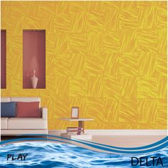 The ripples of a river suggest tranquility and beauty.   Bring calmness into your home with the new soothing Delta Effect from our Royale Play Neu Range.   Find more interesting effects here – http://www.asianpaints.com/products/colour-effects/royale-play-wall-textures/royaleplay-special-effects/explore.aspx