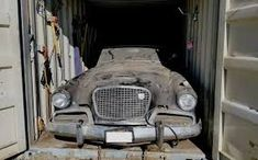 sudabaker hawk grills - Google Search 1950s Car, Best Barns, Abandoned Cars, 45 Years, Barn Finds, Old Cars, Aerosmith, Grills, Rat