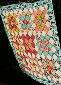 Short Trips Around the World Baby Quilt by twinfibers, via Flickr