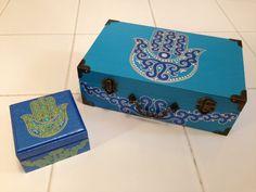 Hamsa boxes by RavynsNest