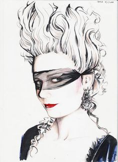 Kirstin Dunst as Marie Antoinette