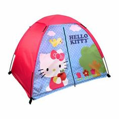 2384a0be884 Hello Kitty 4 Piece Fun Camp Kit Dome Sleeping Bag Flashlight -- Find out  more at the image link.