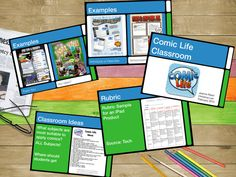 Comic Life PD Keynote and Video « techchef4u