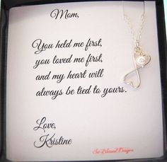 Mother of the Bride Necklace Mother of the Groom gift ideas - Bridal Gowns Mother Of The Bride Necklaces, Mother Of The Groom Gifts, Mother Gifts, Mothers, Wedding Gifts For Parents, Gifts For Wedding Party, Gifts For Mom, Bridal Parties, Wedding Cakes