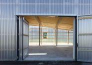 bunq architectes: polycarbonate activity building in gland