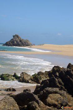 Houat: la pointe en Tal,  Morbihan                              …