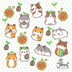 Hamster lovers hope it brighten up your day!