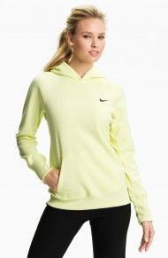 Nike All Time Nordic Thermafit Hoodie in Green (white lime)