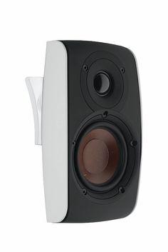 HIDEF Lifestyle DALI - FAZON SAT - On-Wall Speaker in White(each) - Bookshelf/Surround Speakers - Speakers - Audio The Most Trusted AV Source