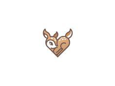 Fawn / #logo #mark #deer #illustration #animal