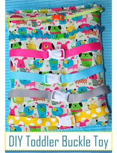 Birds Busy Blanket A Buckle Snap Zip Velcro And