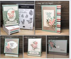 Hello You, Stampin Up Cards, Fern, Ferns, Boating, Diy Cards, Homemade Cards