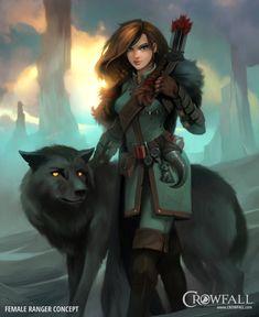 Crowfall - Throne War MMO | Archetyp Waldläufer