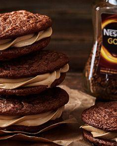 Biscoitos de Nescafé Gold
