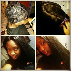 Sewin/ hairbymzfelicia Stylists, Dreadlocks, Sew, Hair Styles, Beauty, Hair Plait Styles, Stitching, Hair Makeup, Costura