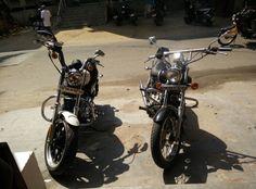 Harley aur meri bike bhai bhai :p