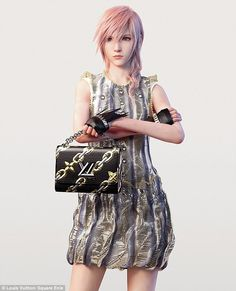 Lightning is one of Final Fantasy's main protagonists, with millions of devoted fans all over the world.Past muses of the fashion house have included Empress Eugenie, Charlotte Perriand, Françoise Sagan, Catherine Deneuve, Kate Moss and Sofia Coppola