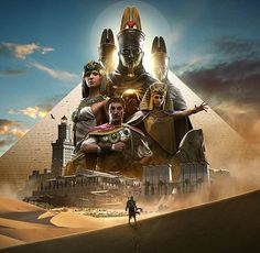 Whose excited for the new Assassins Creed Origins which is set to have the biggest map to date! 🎮👏