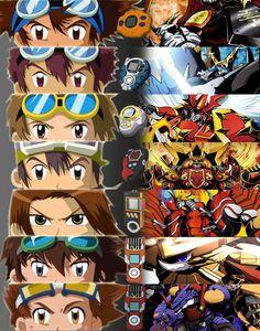 Digimon Generations v1 by Cazatormenta