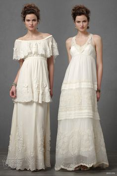 Boho wedding dress | Tumblr