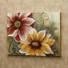 Get creative wall painting ideas designs for a stylish home decor.Latest home painting colour ideas, designs for bedrooms. Fabric Painting, Painting & Drawing, Easy Paintings, Acrylic Art, Painting Inspiration, Flower Art, Canvas Wall Art, Watercolor Art, Art Projects