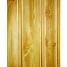 FashionWall Hdbrd Pine Canyon 3/16-Inx4-Ftx8-Ft 47.75-in x 7.98-ft Double Bead Hardboard Wall Panel