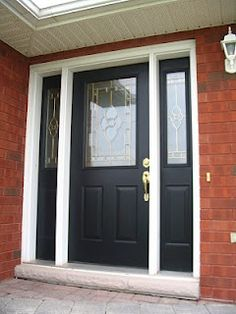 Black Door   Trim White