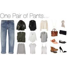 One Pair of Pants by keelyhenesey on Polyvore