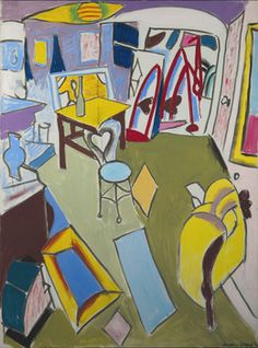 Jason Berger, 'The Living Room, Brookline,' 1990, Childs Gallery