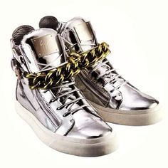Celebrating our new store opening at Harbour City - Hong Kong!  30 pieces of limited edition high-top sneakers, embossed with serial number 1 to 30 will be available exclusively in the Harbour City store. The high-top sneakers are made with silver tumbled calfskin, decorated with gold chain and side zips #giuseppezanotti #opening #harbourcity #hongkong #limitededition #Padgram