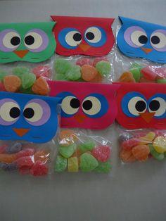 Diy Christmas Presents, Christmas Diy, Summer Camp Activities, Owl Birthday Parties, Candy Crafts, 1st Day Of School, Kindergarten, Valentines, Baby Shower