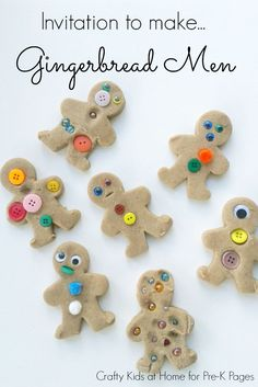 Printable Gingerbread Play Dough Recipe your kids will love! An easy and foolproof recipe that smells amazing! Perfect for your kids at home or in the classroom!