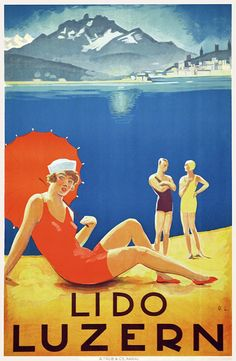 Lido - Luzern - 1929 - (Otto Landolt) -