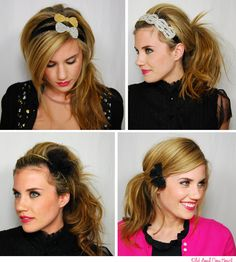 love the hairstyles.